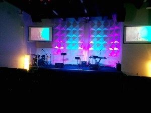 stage church